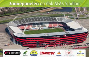 Hanergy Zonnepanelen AZ stadion